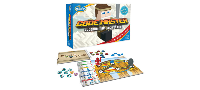 Code Master Game from ThinkFun - YouTube